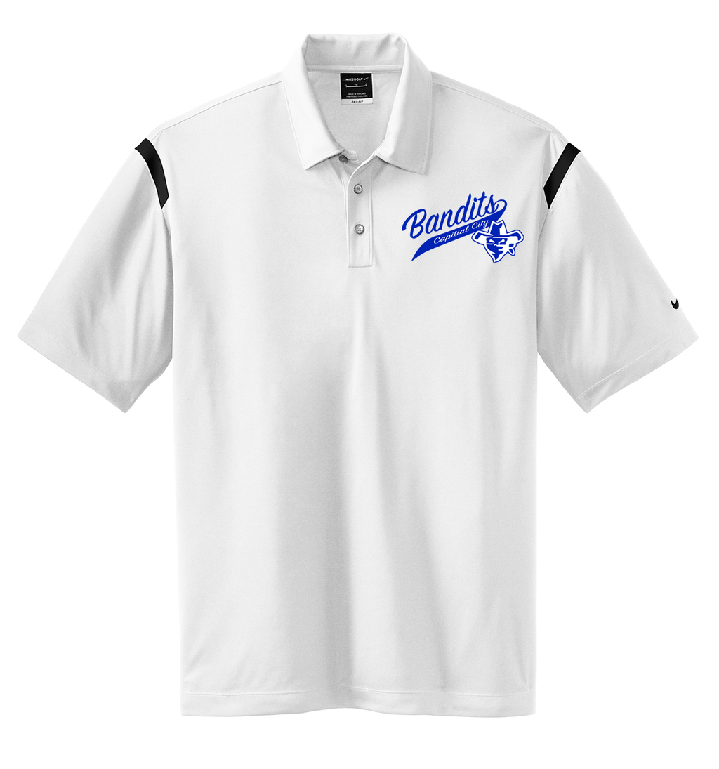 Capital City Baseball Nike Dri-FIT Stripe Polo