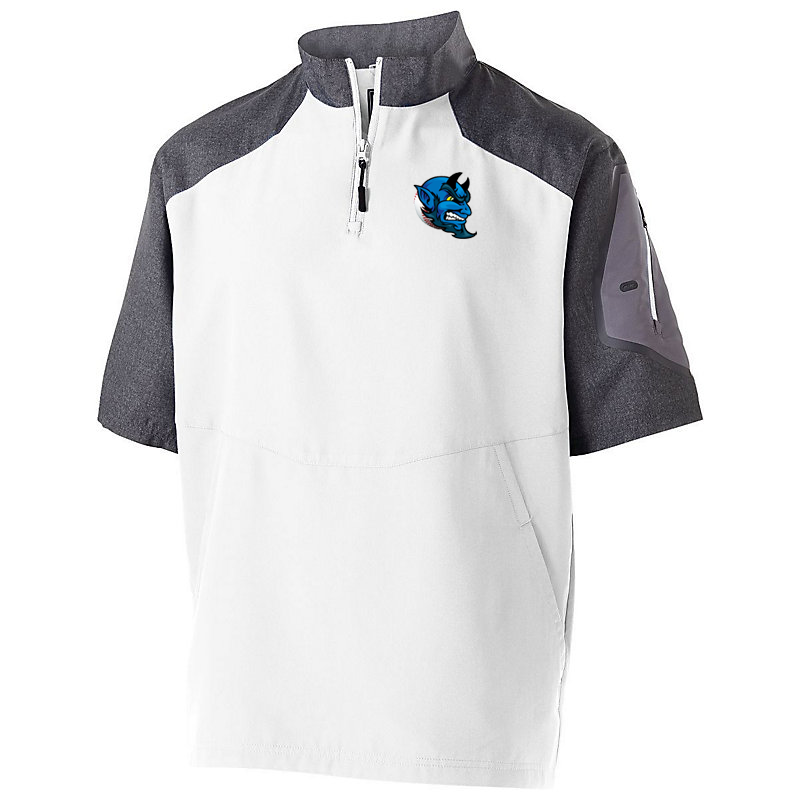 Blue Devils Baseball Short Sleeve Pullover