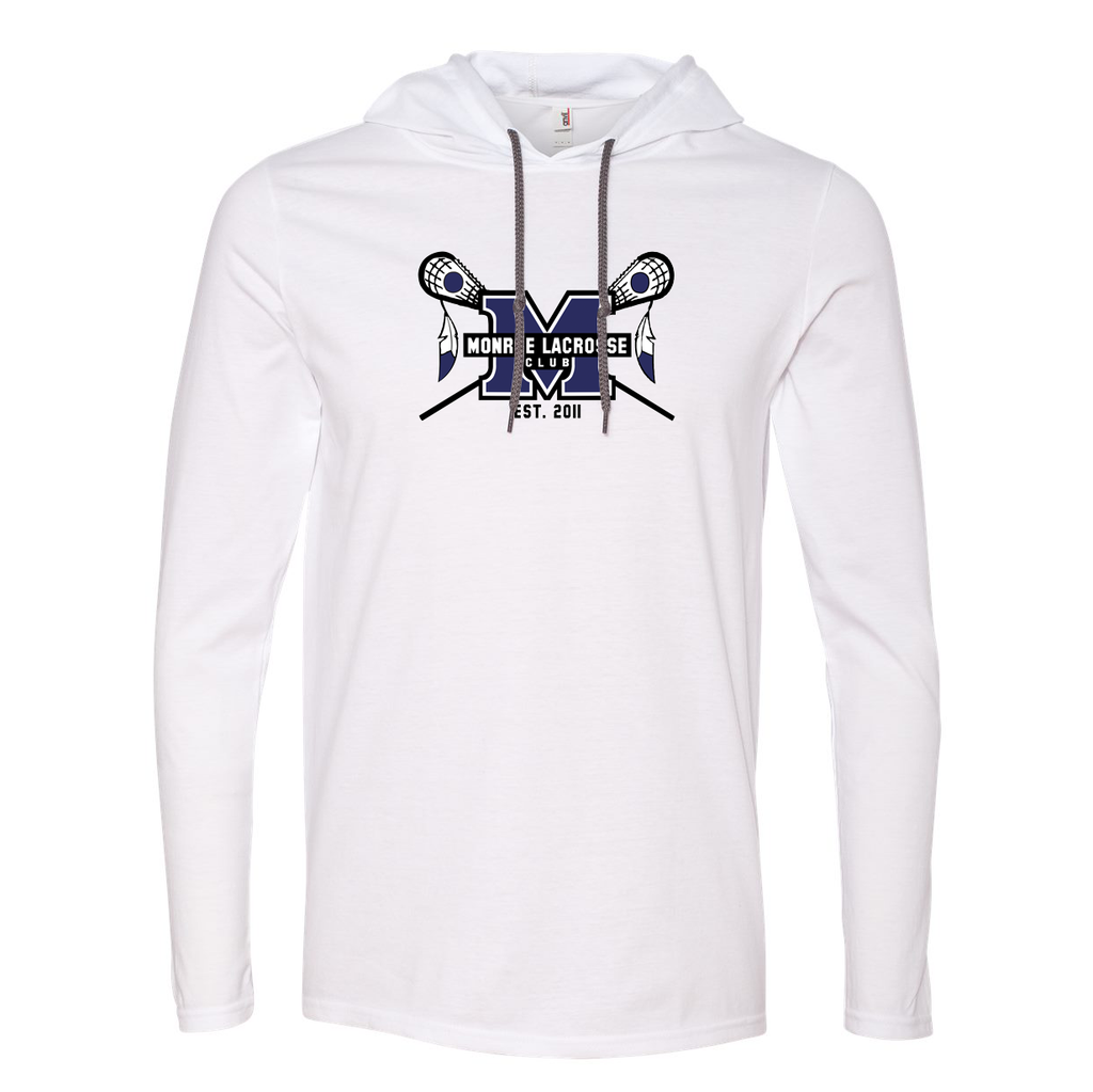Monroe Braves Hooded Long Sleeve Tee
