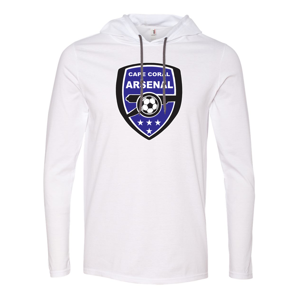 Cape Coral Arsenal Hooded Long Sleeve Tee