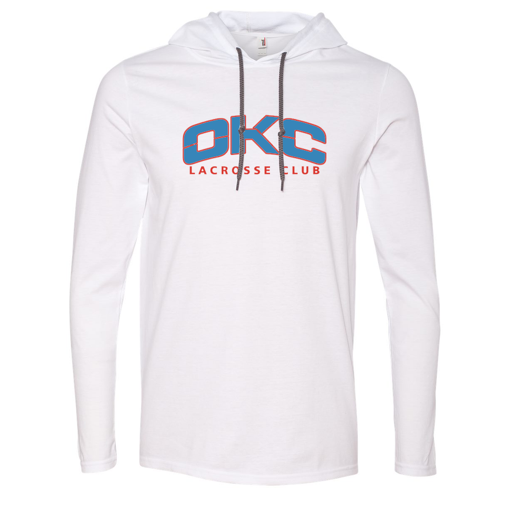 OKC Lacrosse Club  Hooded Long Sleeve Tee