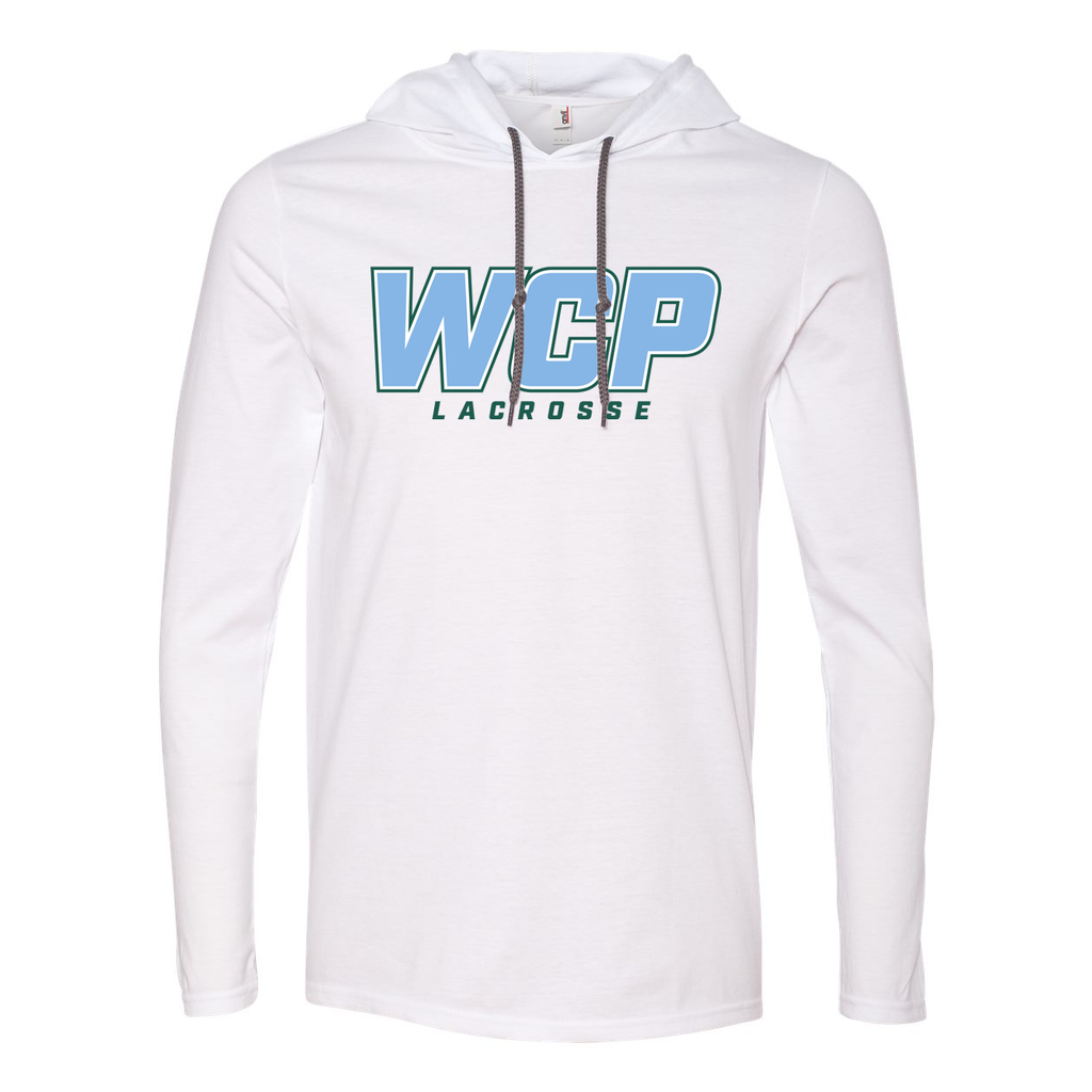 WCP Girls Lacrosse  Hooded Long Sleeve Tee