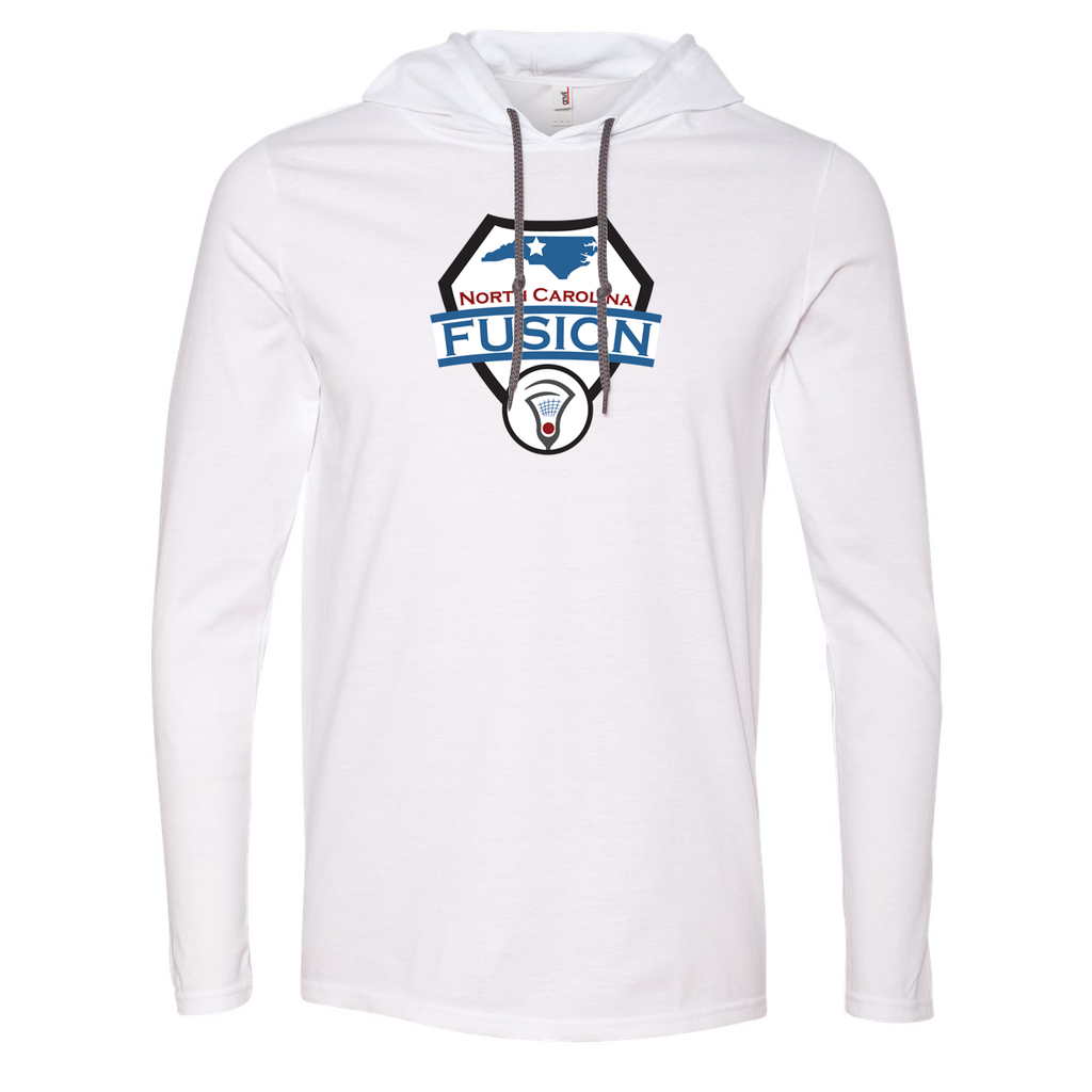 Fusion Lacrosse Hooded Long Sleeve Tee