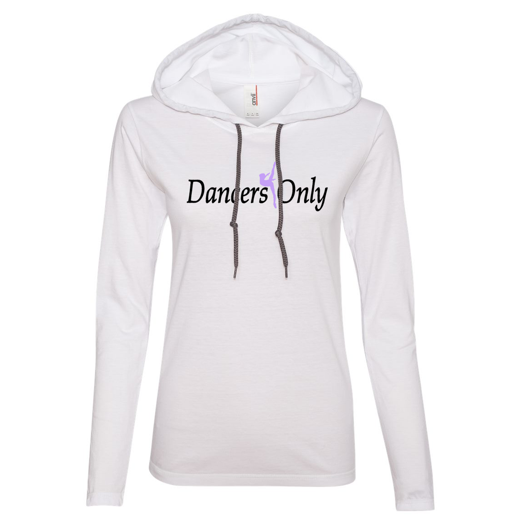 Dancers Only Women's Hooded Long Sleeve Tee