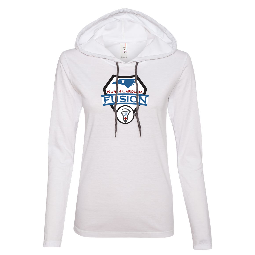 Fusion Lacrosse  Women's Hooded Long Sleeve Tee