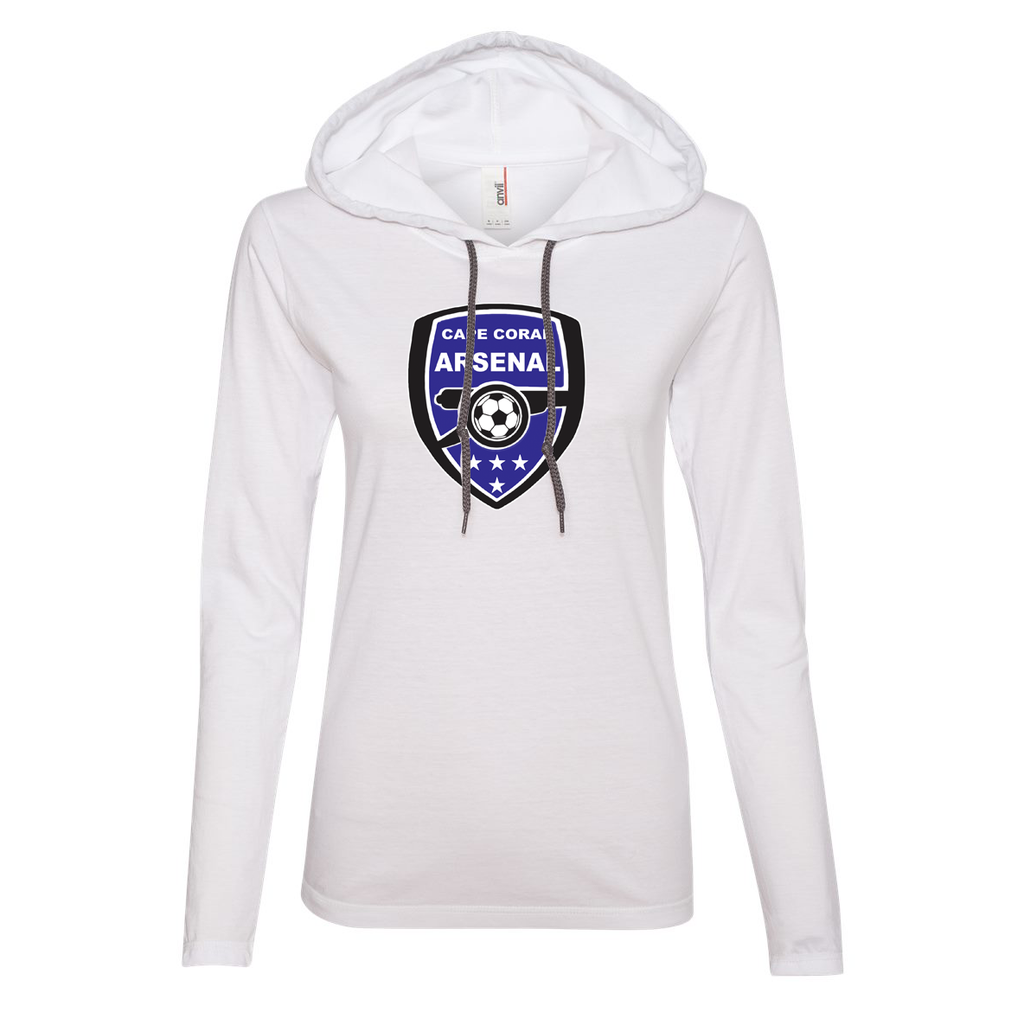 Cape Coral Arsenal Women's Hooded Long Sleeve Tee