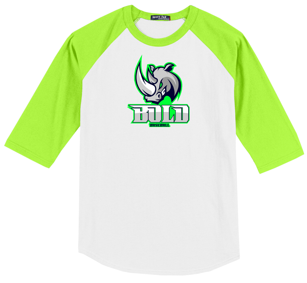 Bold Baseball 3/4 Sleeve Baseball Shirt