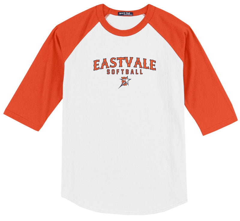 Eastvale Girl's Softball 3/4 Sleeve Baseball Shirt