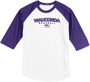 Wauconda Baseball 3/4 Sleeve Baseball Shirt