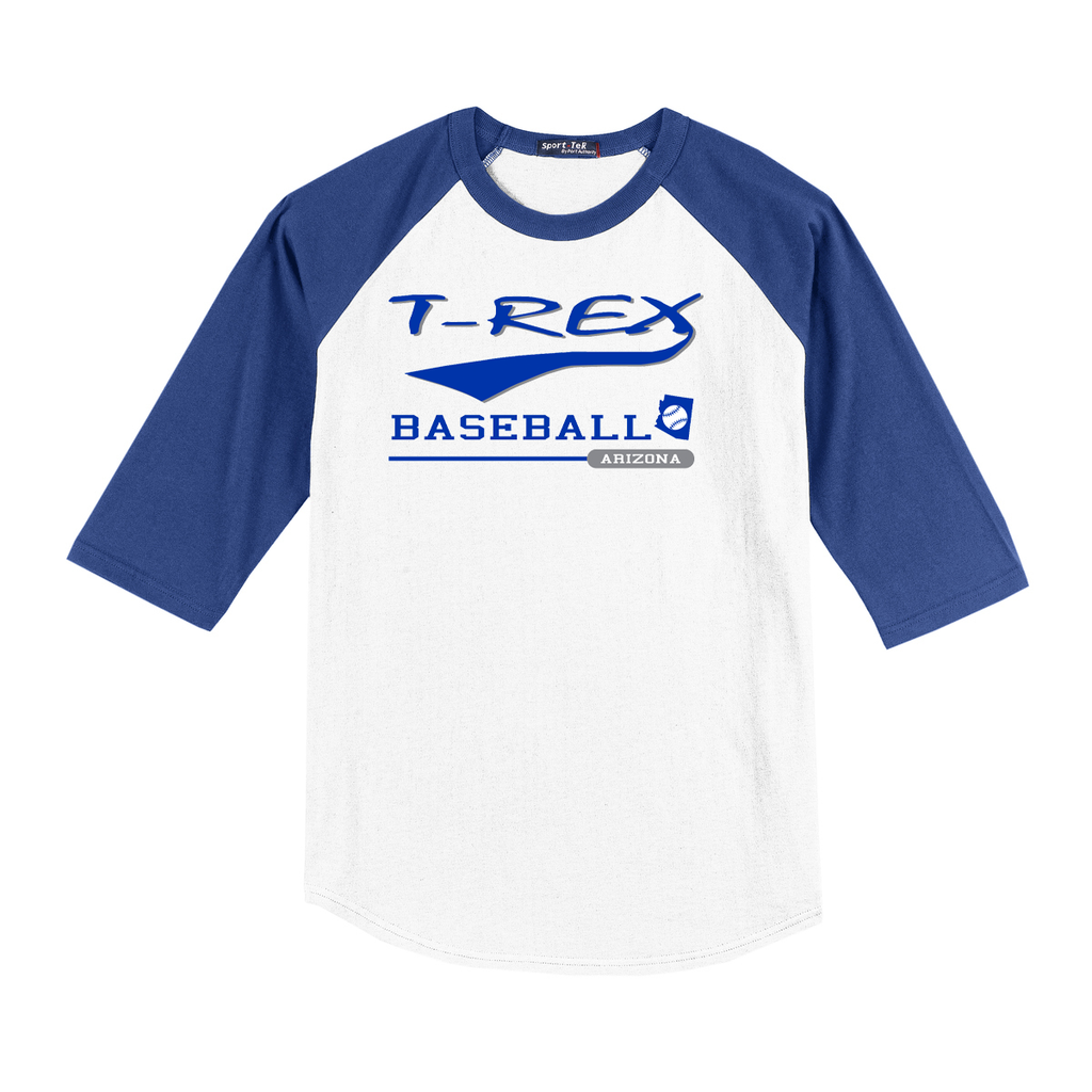 T-Rex Baseball 3/4 Sleeve Baseball Shirt