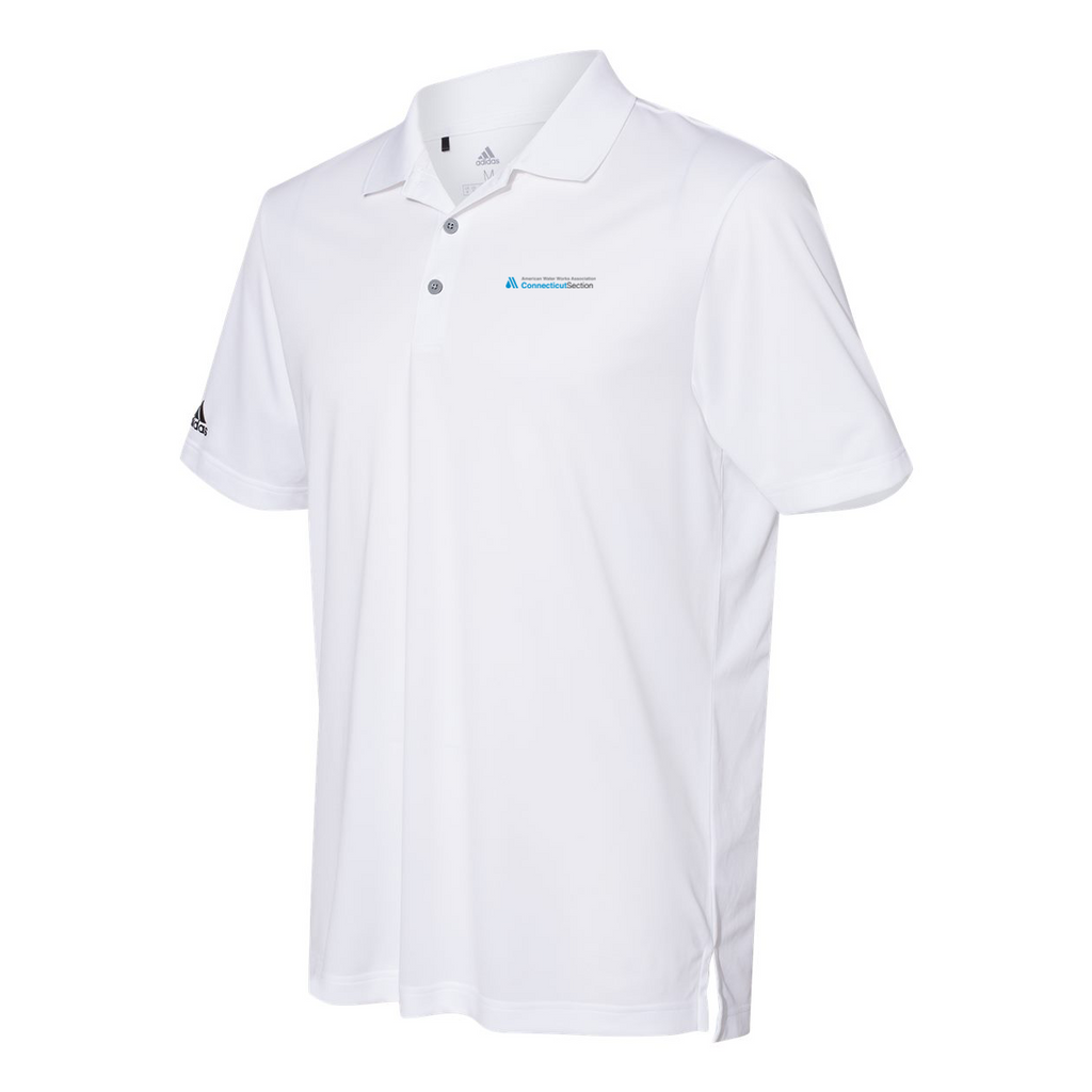 AWWA Connecticut Section Adidas Performance Sport Polo