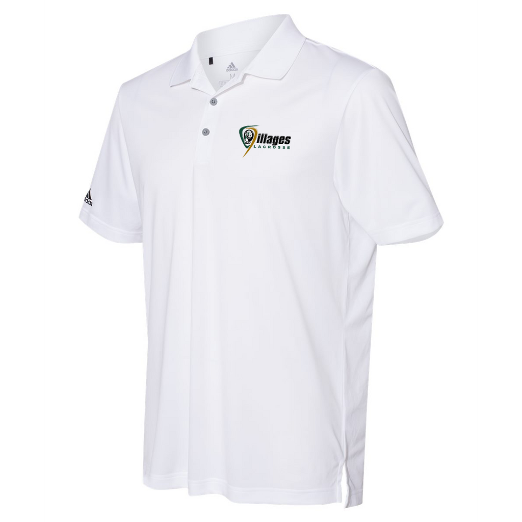 Villages Lacrosse Adidas Performance Sport Polo