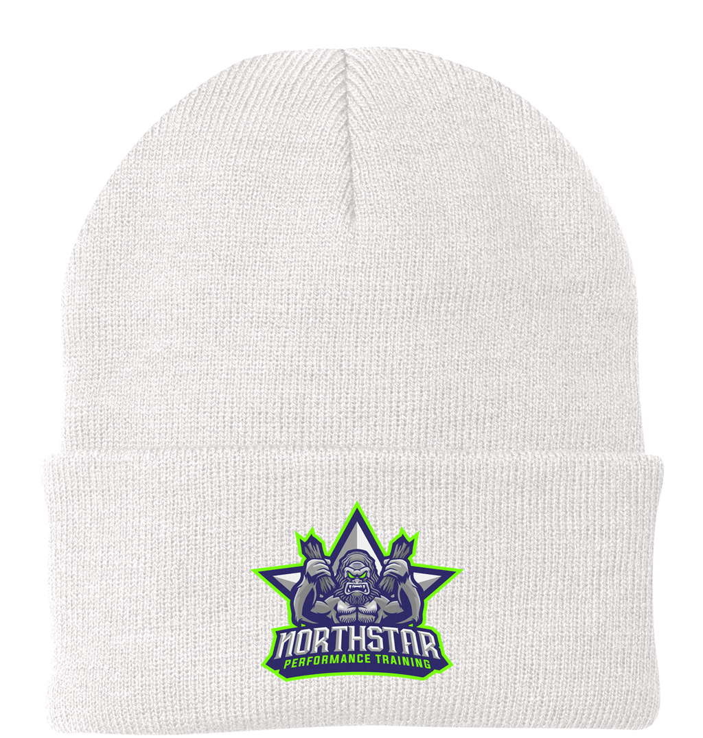 Northstar Performance Training White Knit Beanie