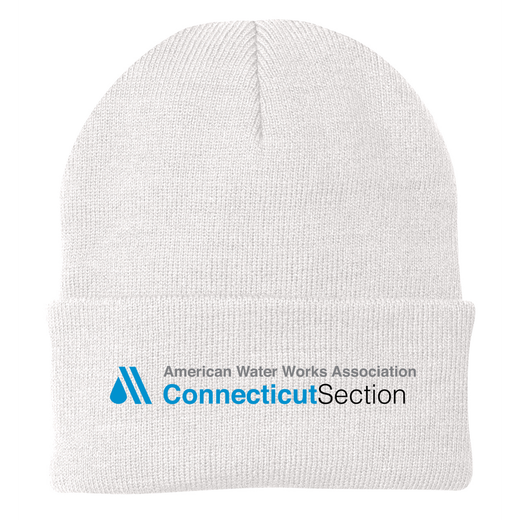 AWWA Connecticut Section Knit Beanie