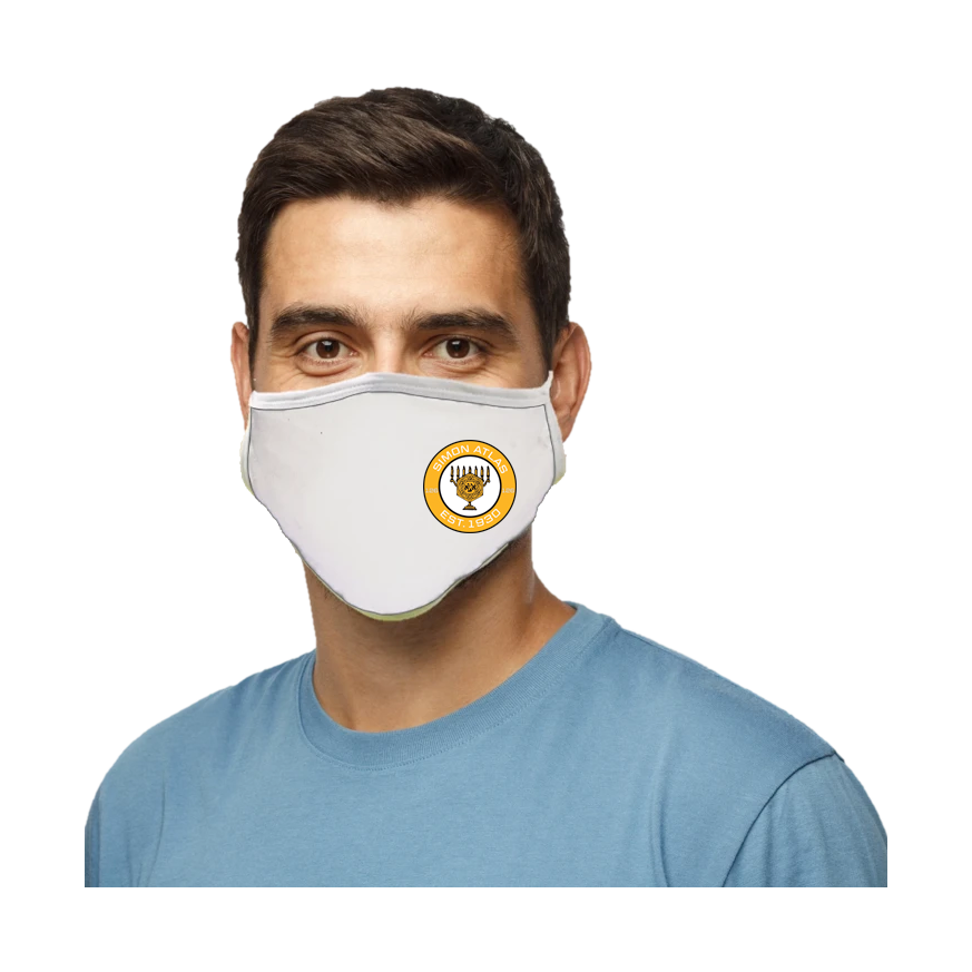 Simon Atlas Blatant Defender Face Mask - White