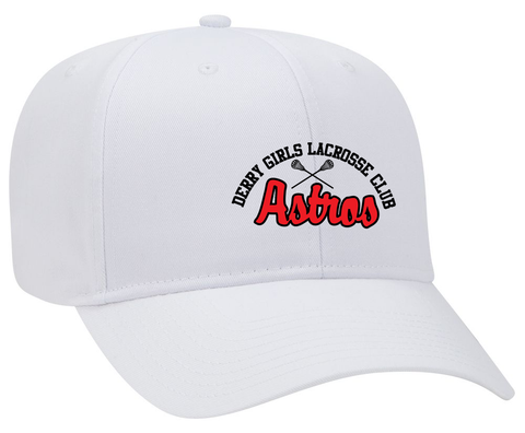 Derry Girl's Lacrosse White Cap