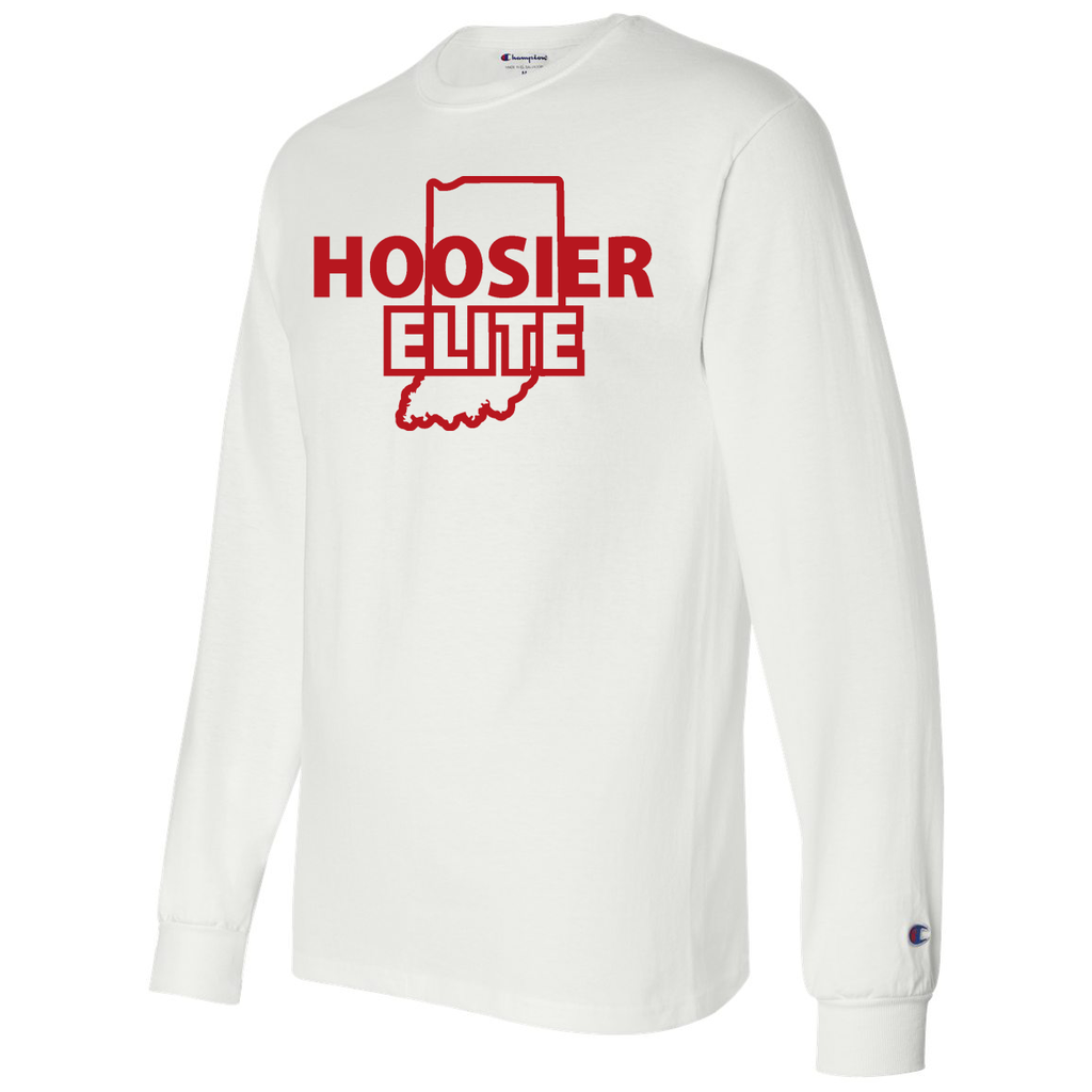 Hoosier Elite Basketball Champion Long Sleeve T-Shirt