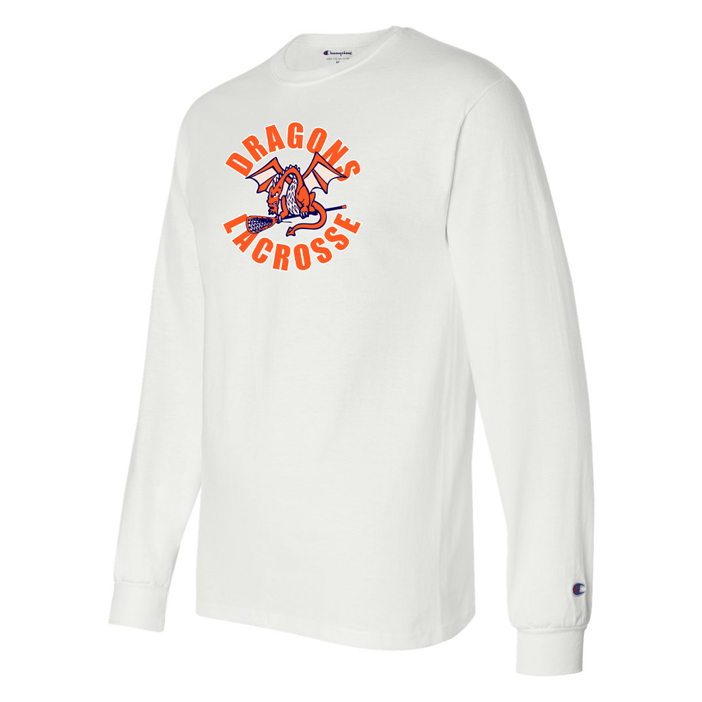 St Petes Dragons Lacrosse Champion Long Sleeve T-Shirt