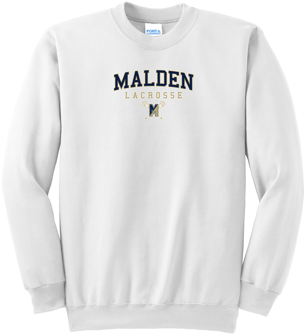 Malden Lacrosse Crew Neck Sweater
