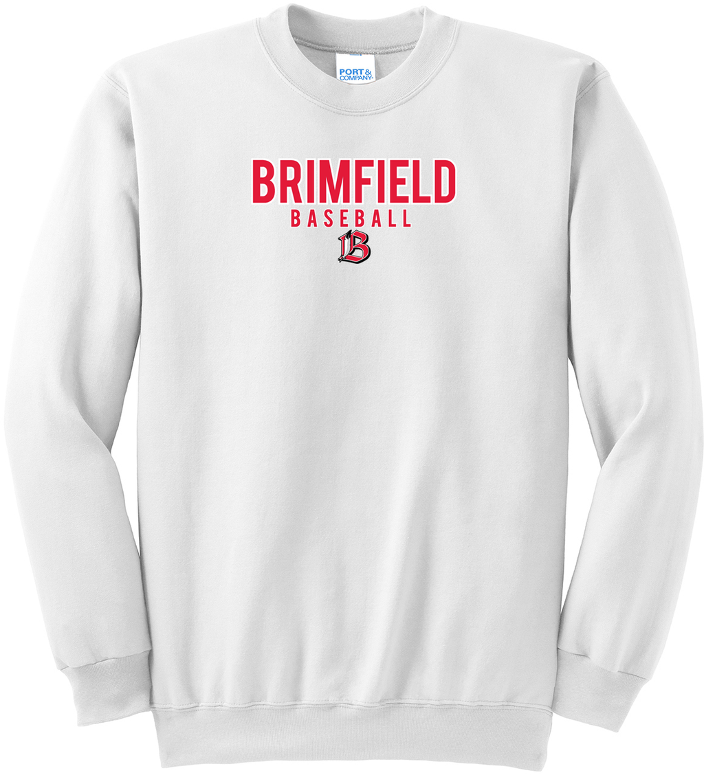 Brimfield Baseball Crew Neck Sweater
