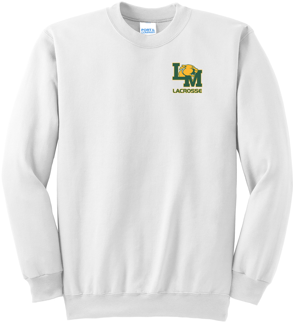 Little Miami Lacrosse White Crew Neck Sweater