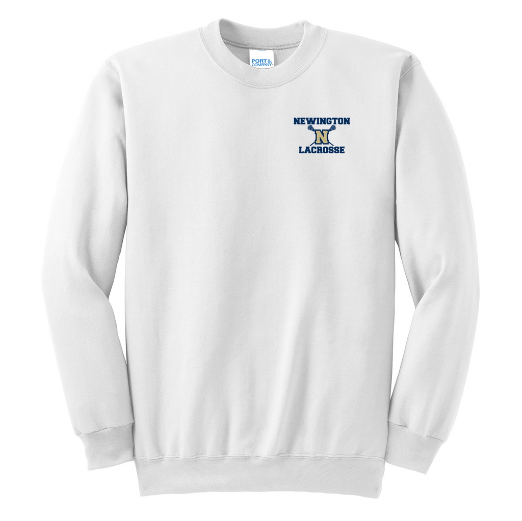 Newington High School Lacrosse Crew Neck Sweater