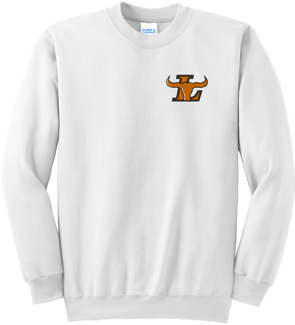 Lanier Baseball Crew Neck Sweater