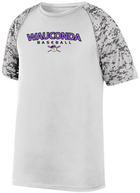 Wauconda Baseball Digi-Camo Performance T-Shirt