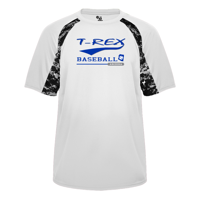 T-Rex Baseball Digital Hook Tee
