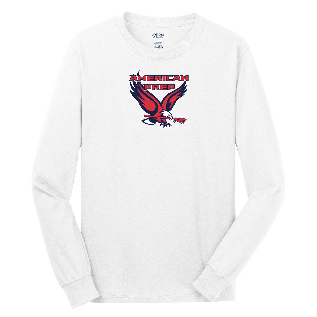 APA Lacrosse Cotton Long Sleeve Shirt