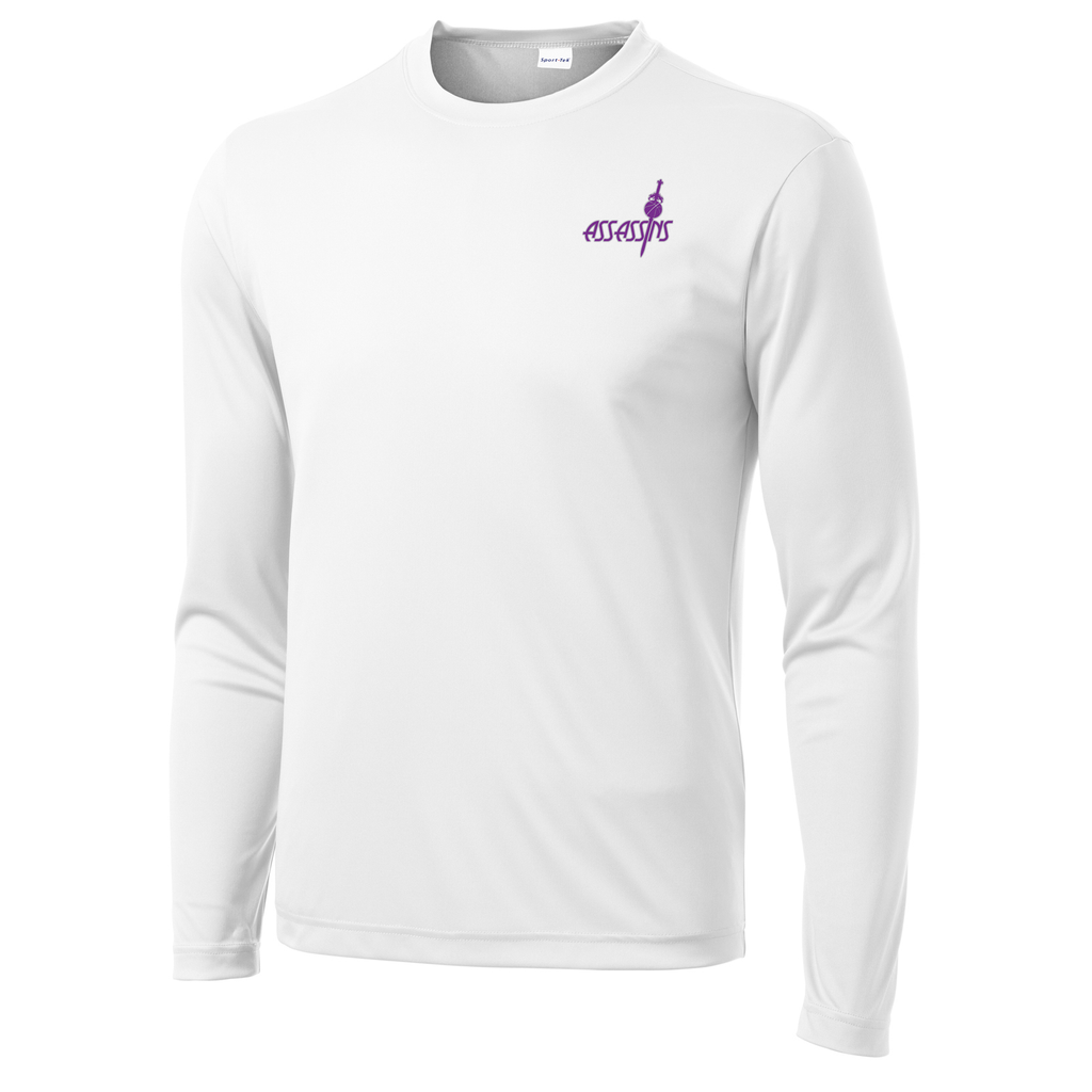Assassins Basketball  Long Sleeve Performance Shirt