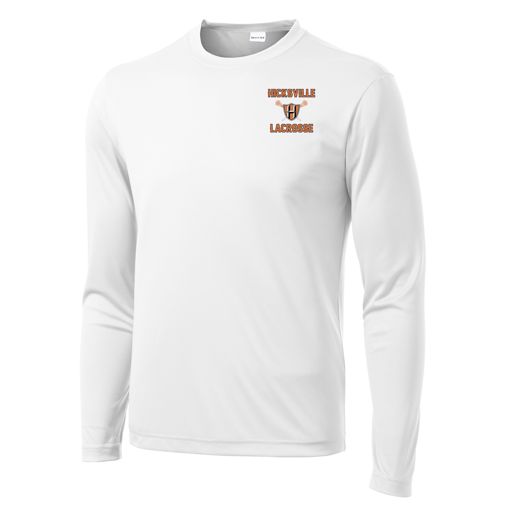 Hicksville Lacrosse  Long Sleeve Performance Shirt