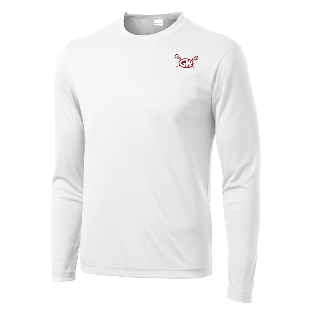 George Washington Lacrosse Long Sleeve Performance Shirt