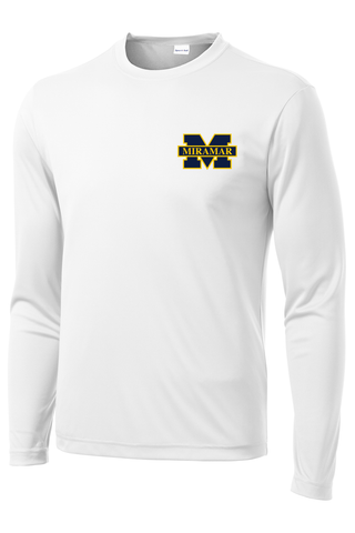 Miramar Wolverines Football Long Sleeve Performance Shirt