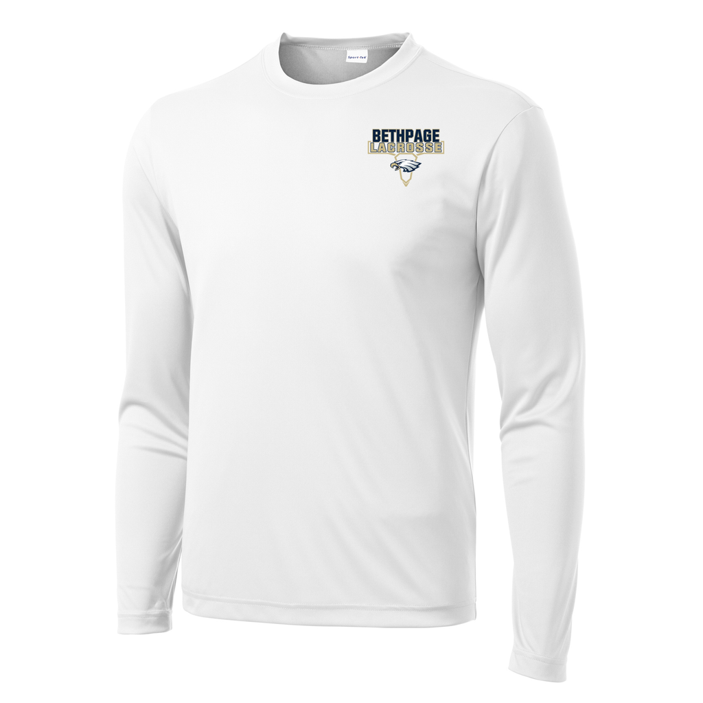 Bethpage HS Lacrosse Long Sleeve Performance Shirt