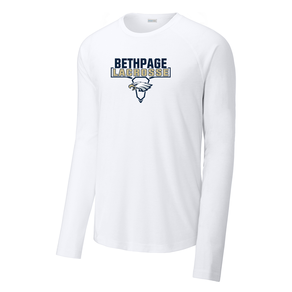 Bethpage HS Lacrosse Long Sleeve Raglan CottonTouch