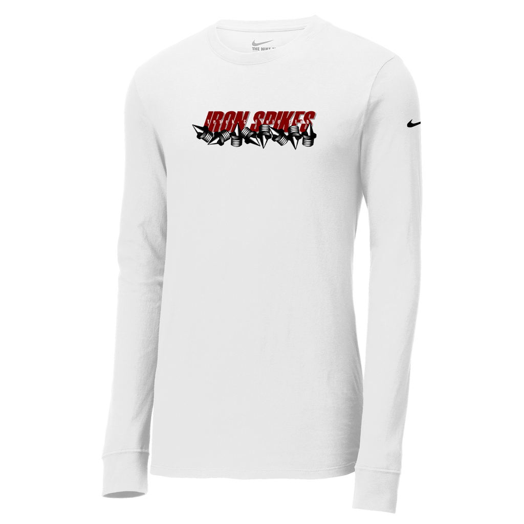 Iron Spikes Track & Field Nike Core Cotton Long Sleeve Tee