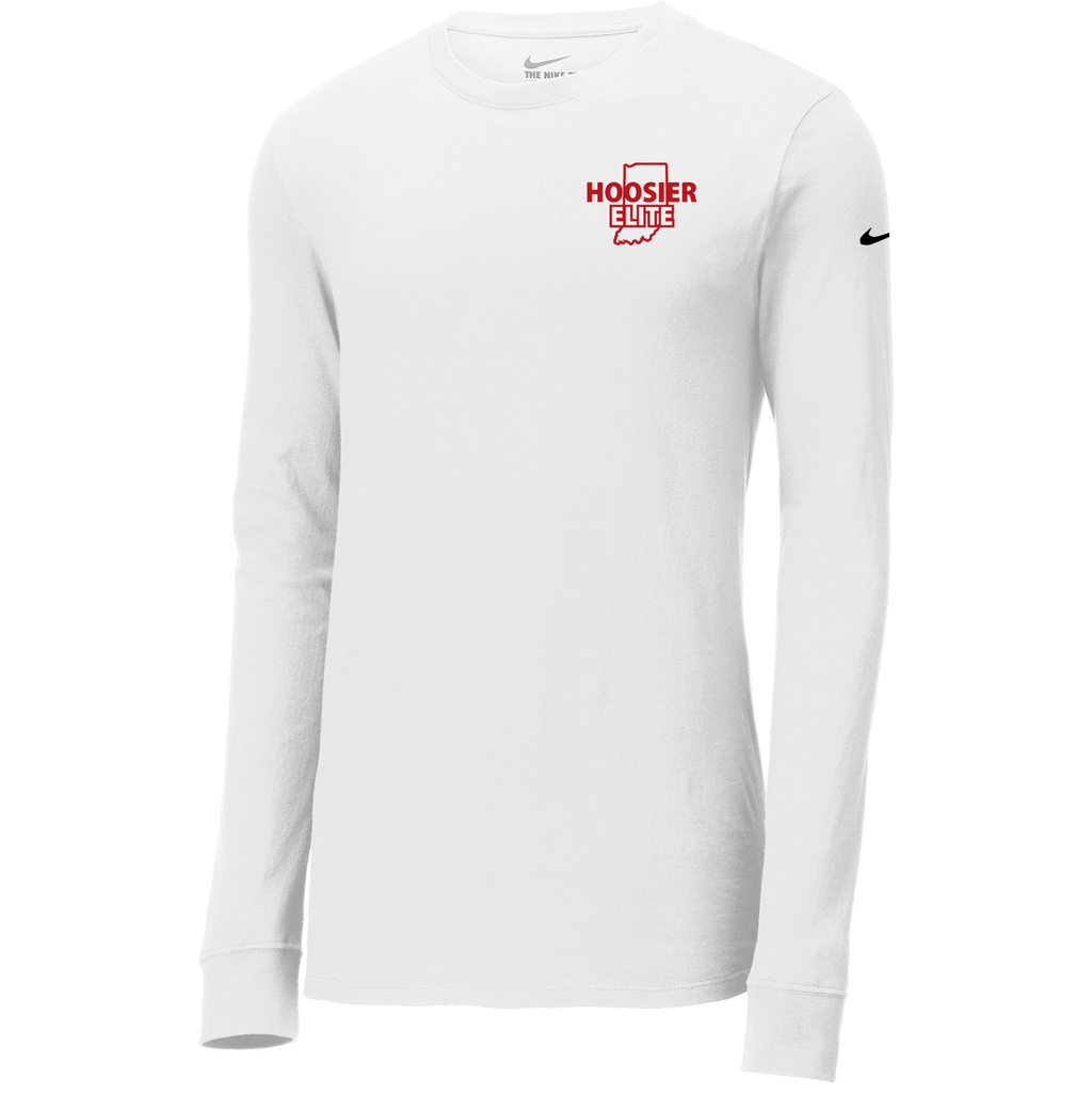 Hoosier Elite Basketball  Nike Core Cotton Long Sleeve Tee