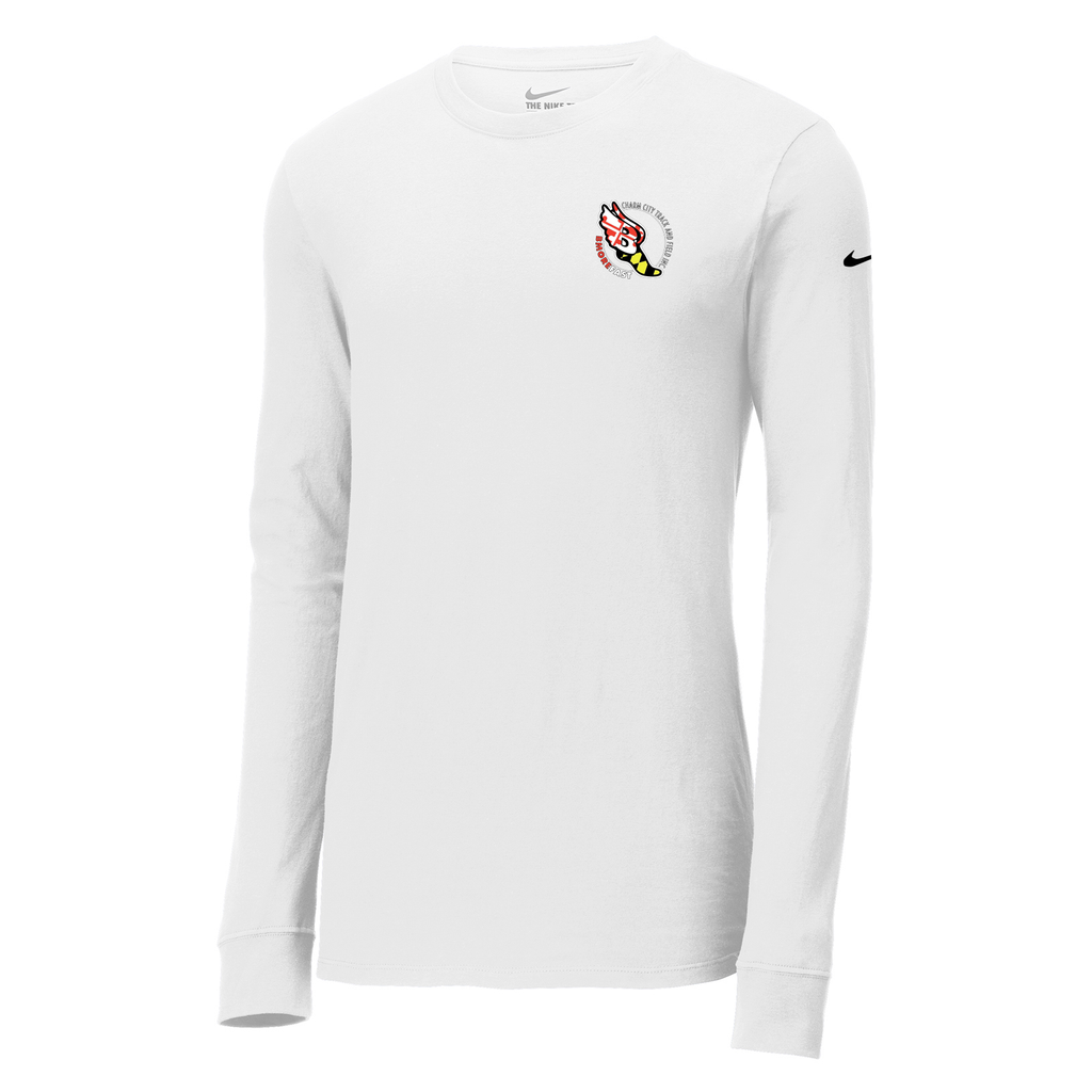 Baltimore City T&F  Nike Core Cotton Long Sleeve Tee
