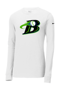 Michigan Blast Elite Baseball Nike Core Cotton Long Sleeve Tee