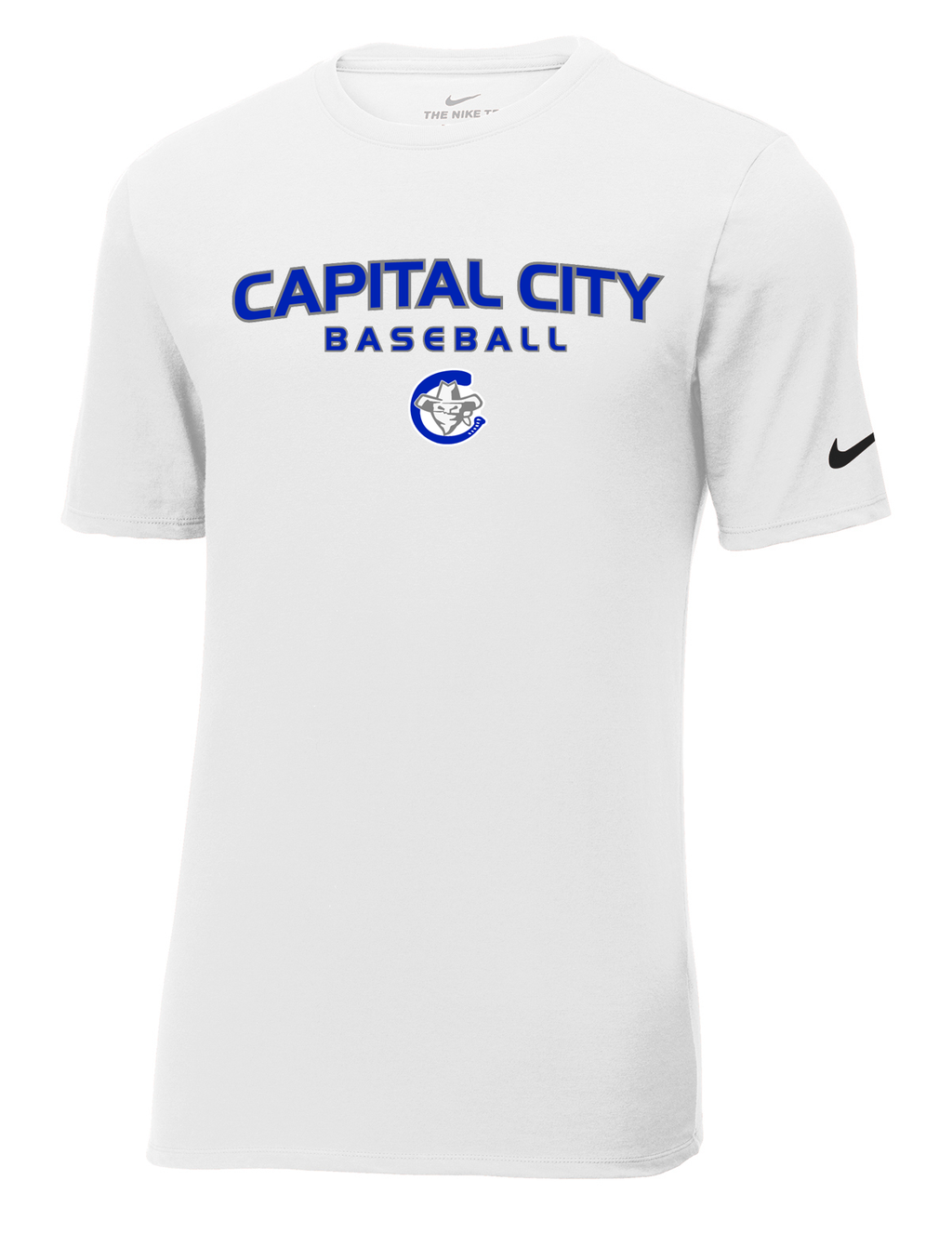 Capital City Baseball Nike Core Cotton Tee