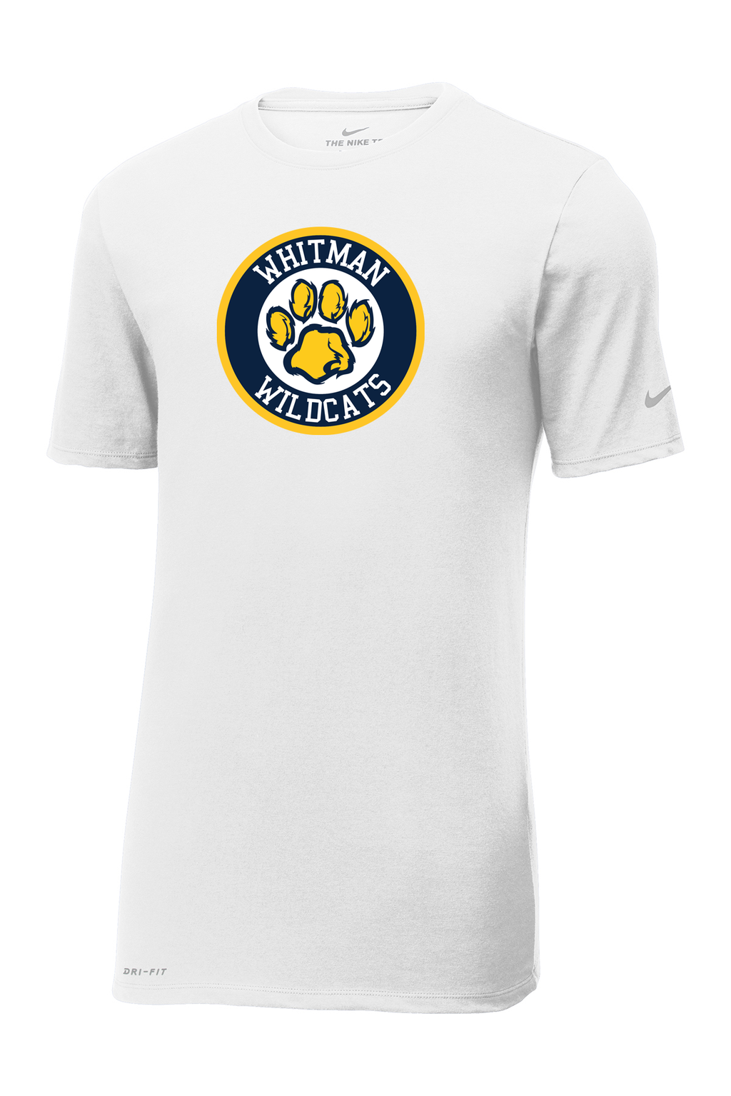 Whitman Wildcats Nike Dri-FIT Tee