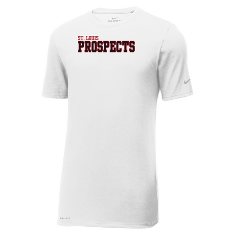 Oxford Youth Lacrosse Men's Nike White Dri-FIT Tee