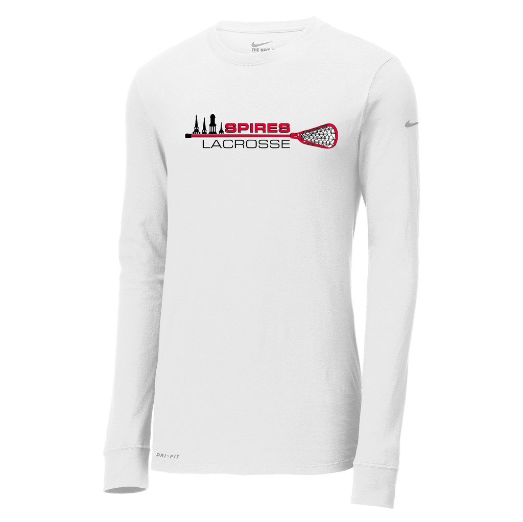 Spires Lacrosse  Nike Dri-FIT Long Sleeve Tee