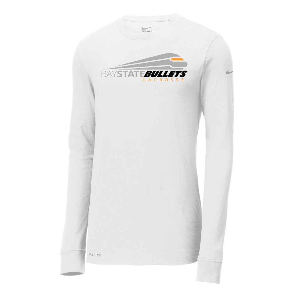 Bay State Bullets Nike Dri-FIT Long Sleeve Tee