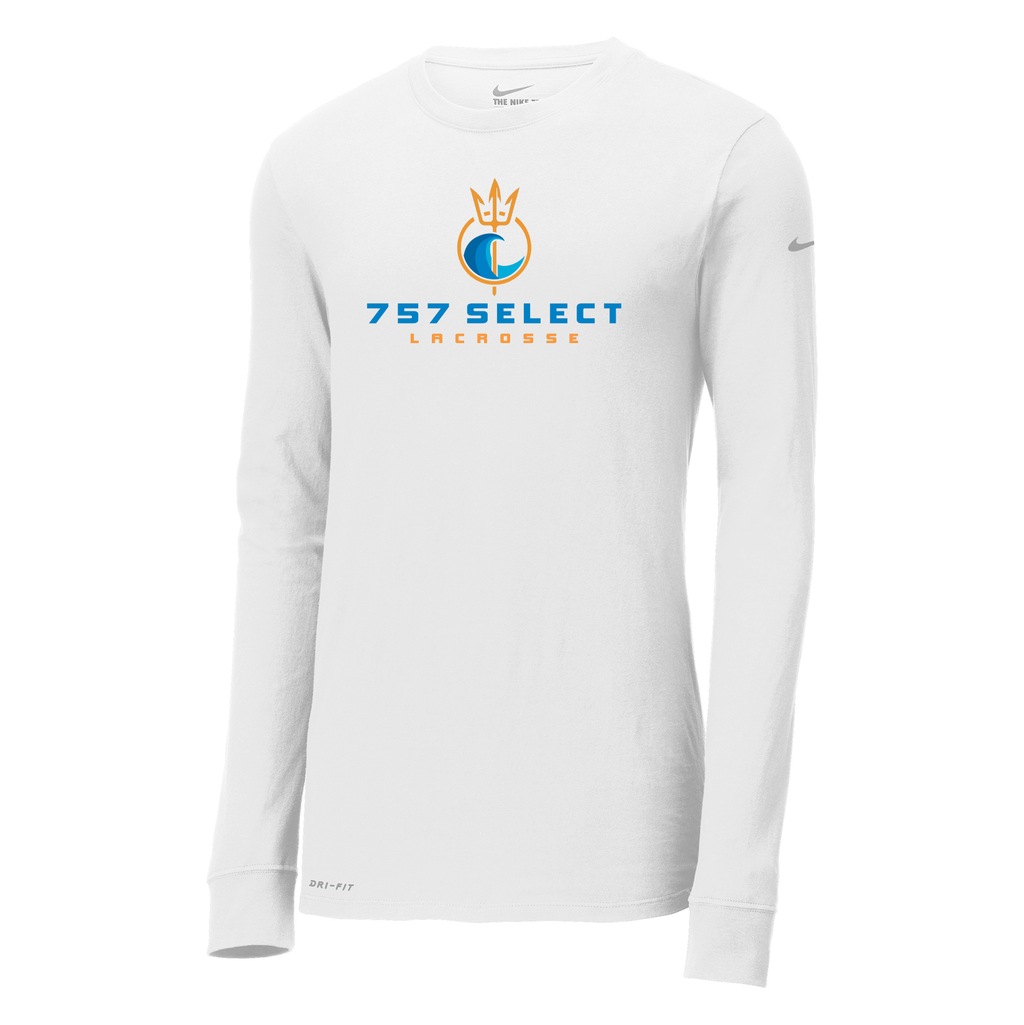 757 Lacrosse Nike Dri-FIT Long Sleeve Tee