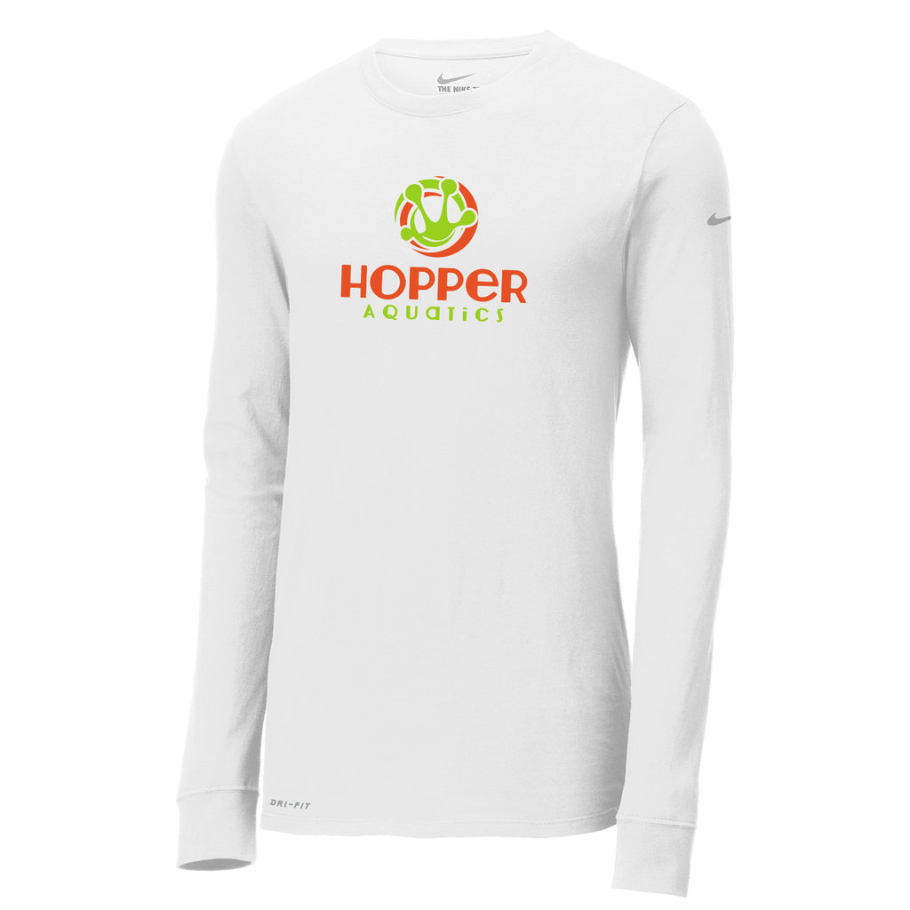 Hopper Aquatics Nike Dri-FIT Long Sleeve Tee
