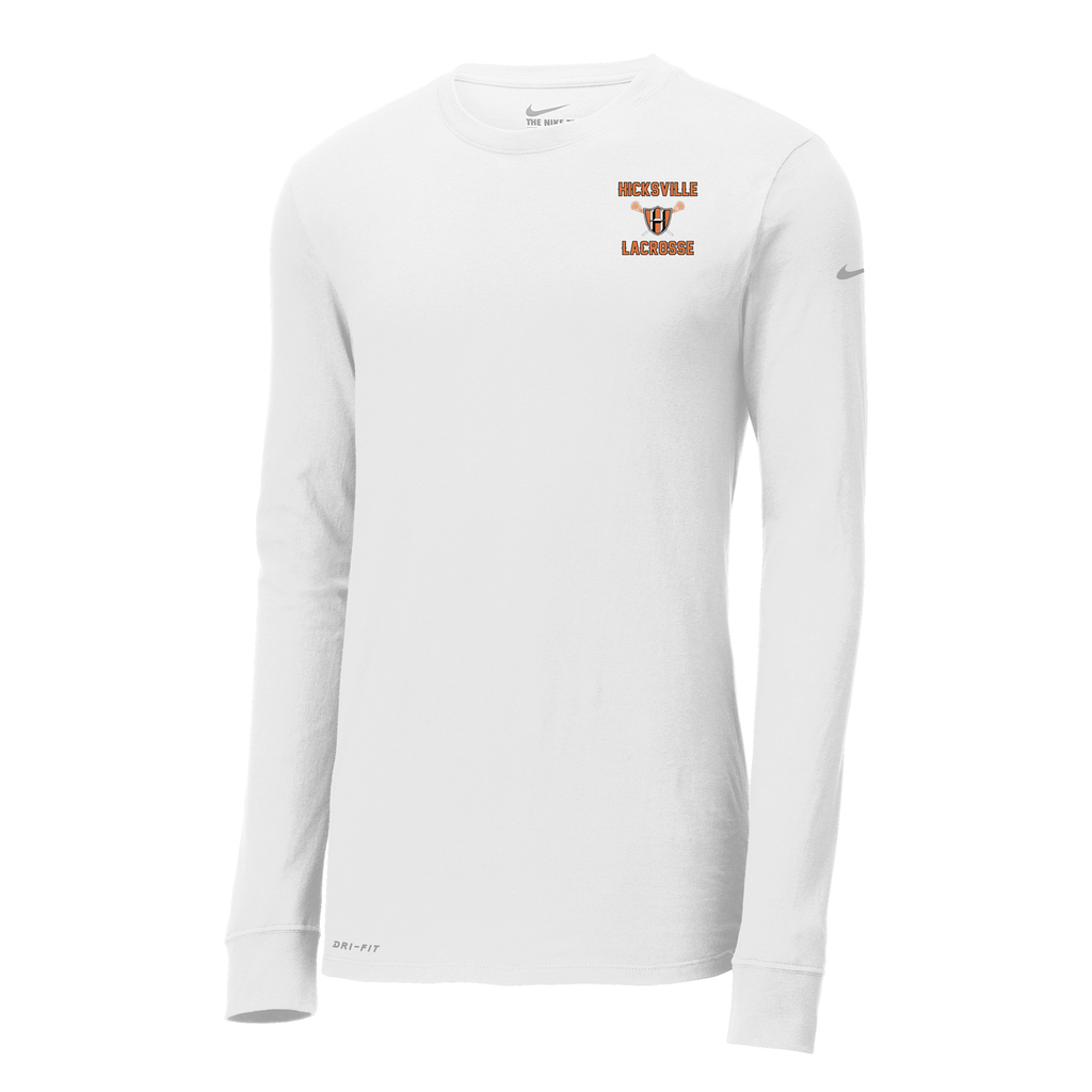 Hicksville Lacrosse Nike Dri-FIT Long Sleeve Tee