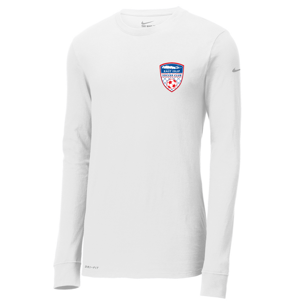 East Islip Soccer Club  Nike Dri-FIT Long Sleeve Tee