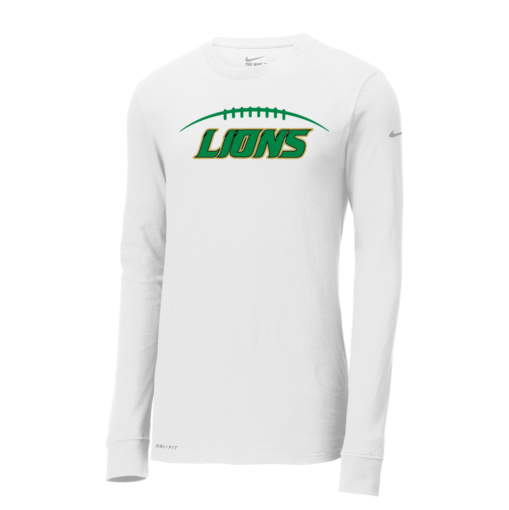 Lanierland Lions Football Nike Dri-FIT Long Sleeve Tee